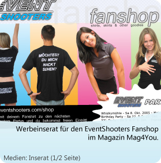 EventShooters Mag4You Inserat